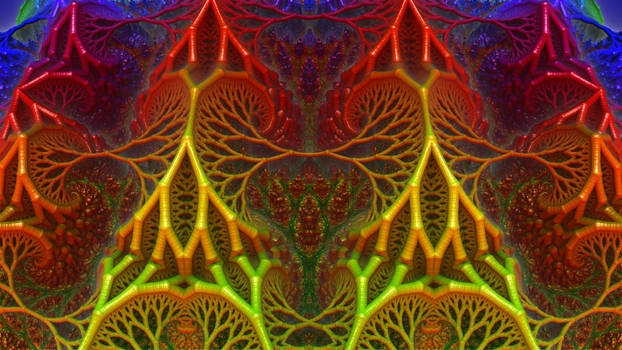 Fractal Net of Jewels