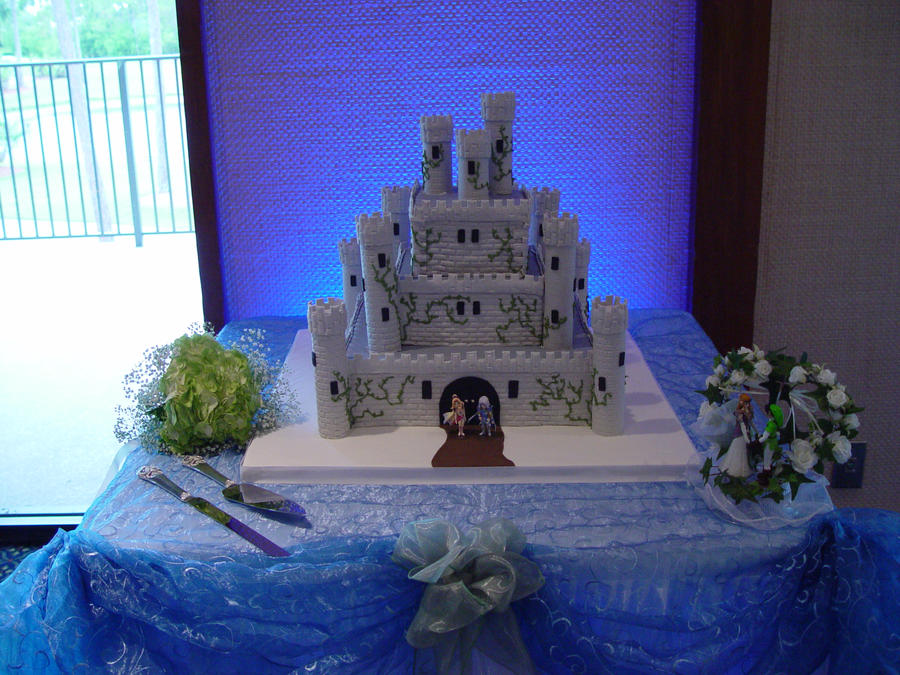 final fantasy wedding cake toppers ffiv castle baron wedding cake by artbysabinae on deviantart 14247