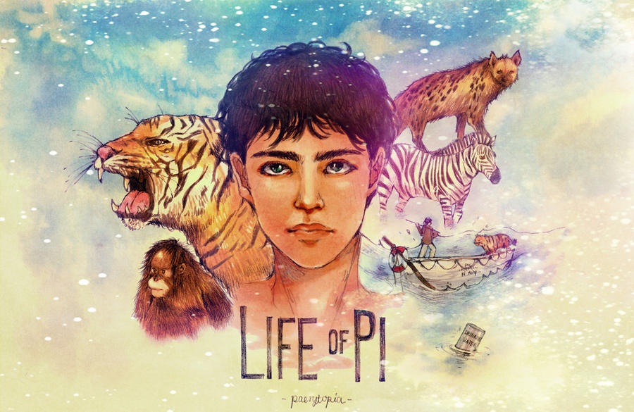 Life of pi by paerytopia on deviantart for Life of pi characterization