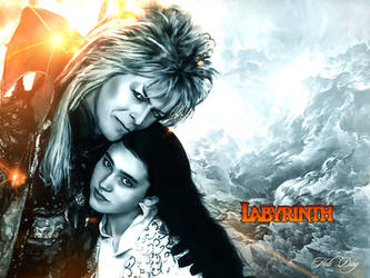 Jareth, Sarah Williams (Labyrinth) by Holi--Day