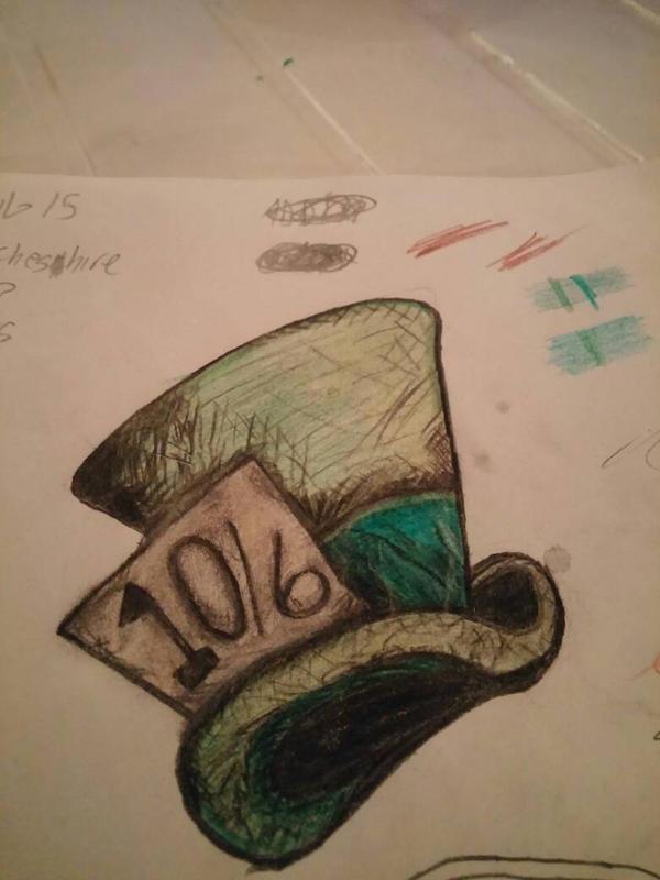 Mad Hatter Hat  by terroristics