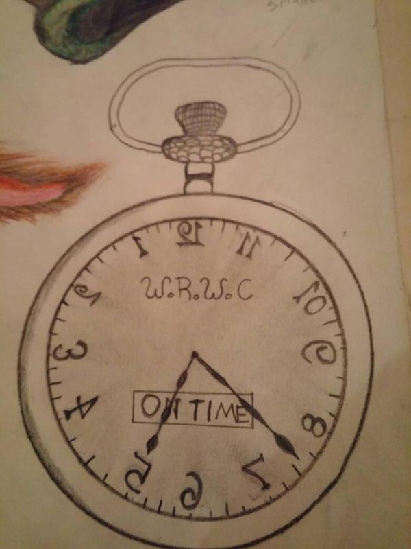 White Rabbit Timepiece draft by terroristics