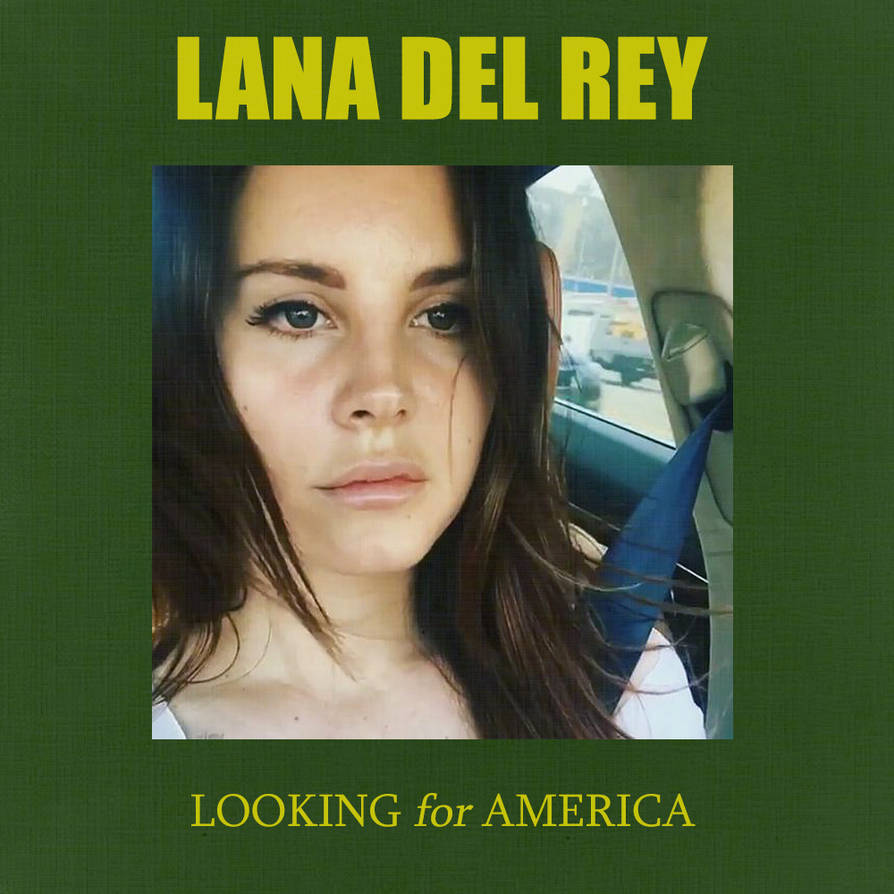 Alison Rey looking for america- lana del rey single cover