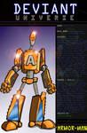 Deviant Universe: Armor-Man