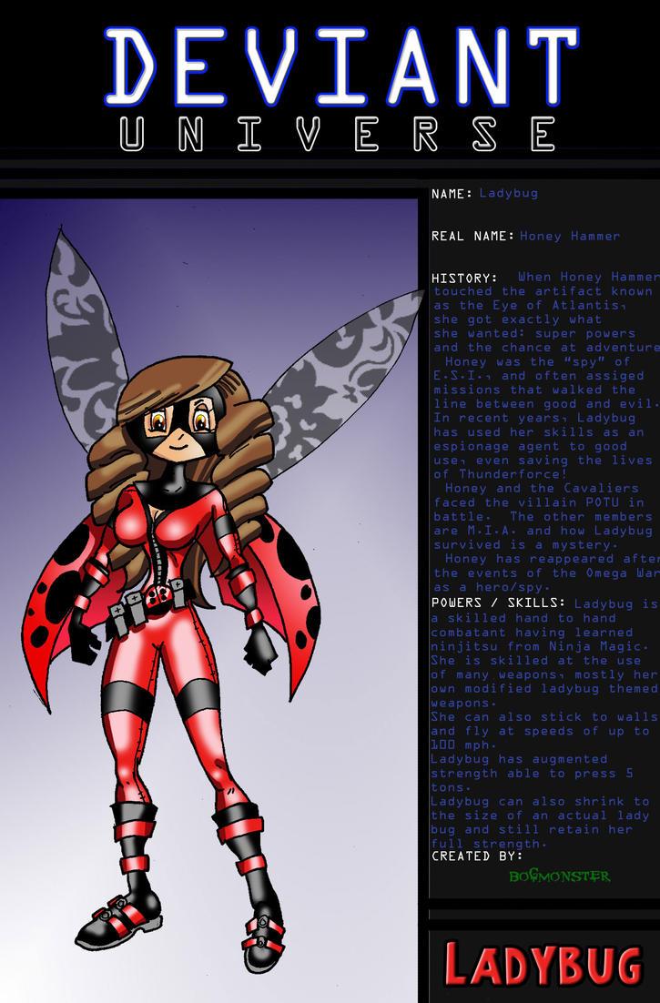 Ladybug by bogmonster