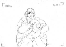 Fatty April by dwarfpriest