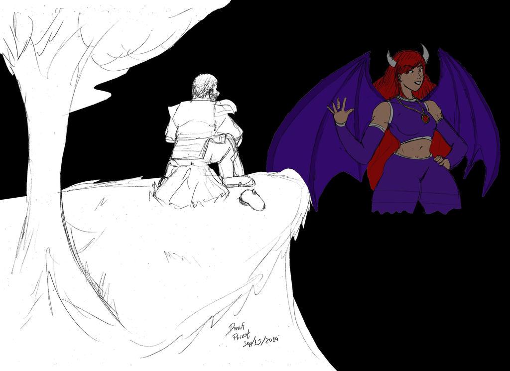 Farewell for a Friend by dwarfpriest