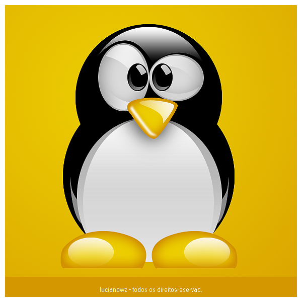 linux penguin by lucianowz on deviantart