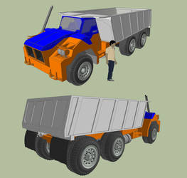 Dump Truck by MSgtHaas