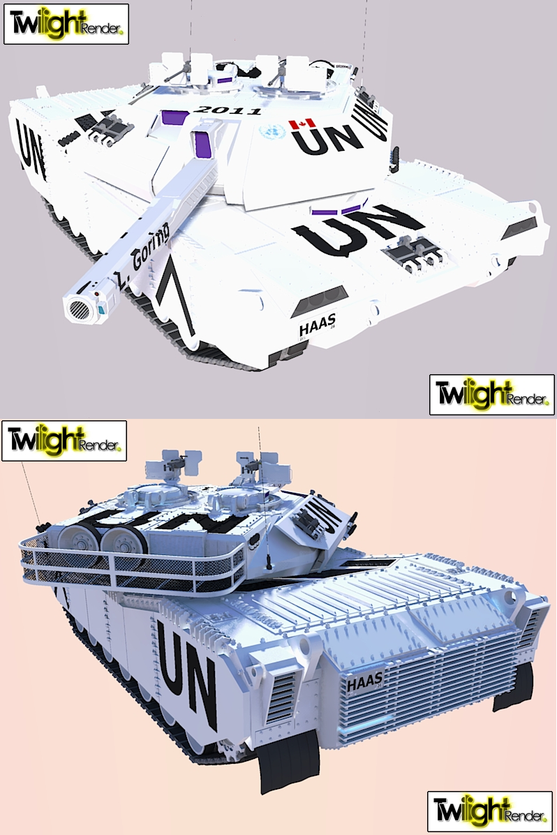 Main Battle Tank UN Render by MSgtHaas