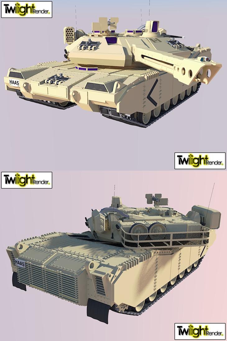 Main battle Tank Rail gun by MSgtHaas
