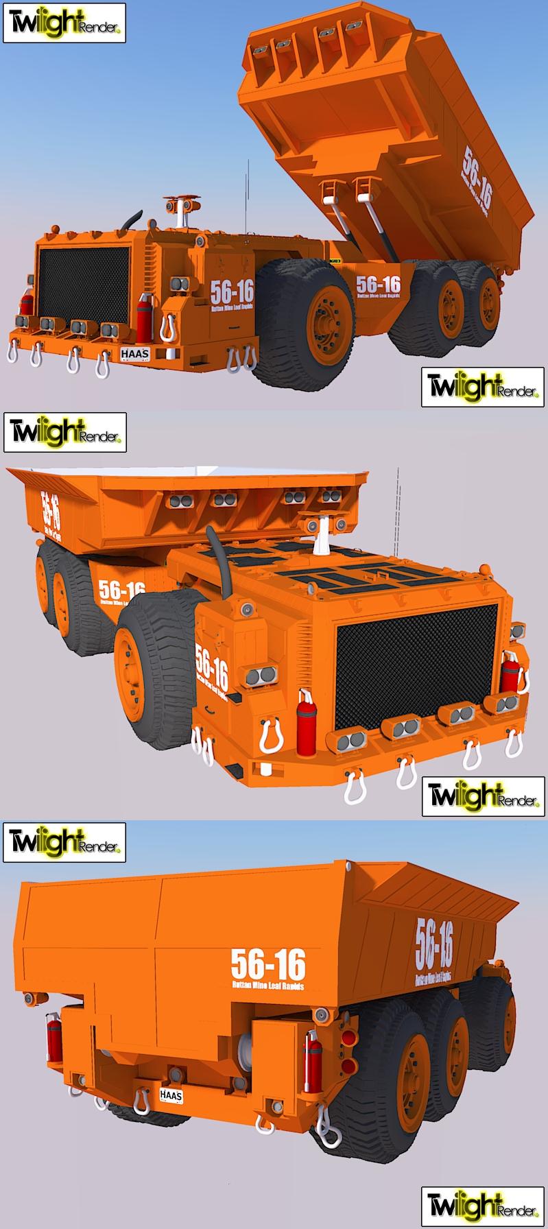 UnderGround Dump Truck by MSgtHaas