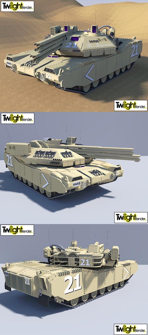 Dual Rail Gun Tank by MSgtHaas