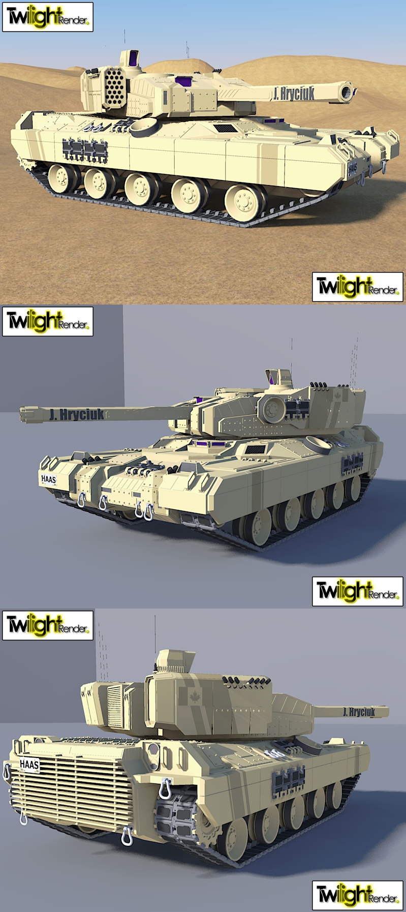 Light Tank by MSgtHaas