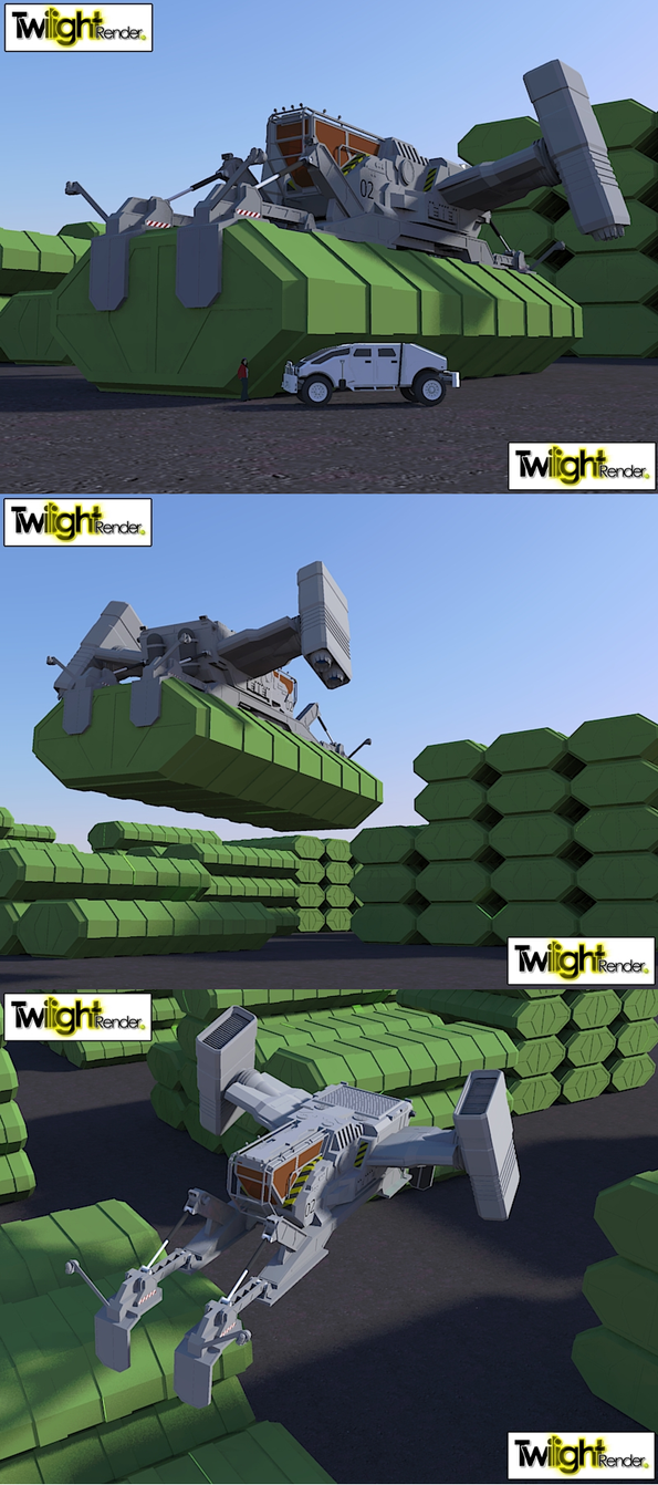 Freighter lifter by MSgtHaas