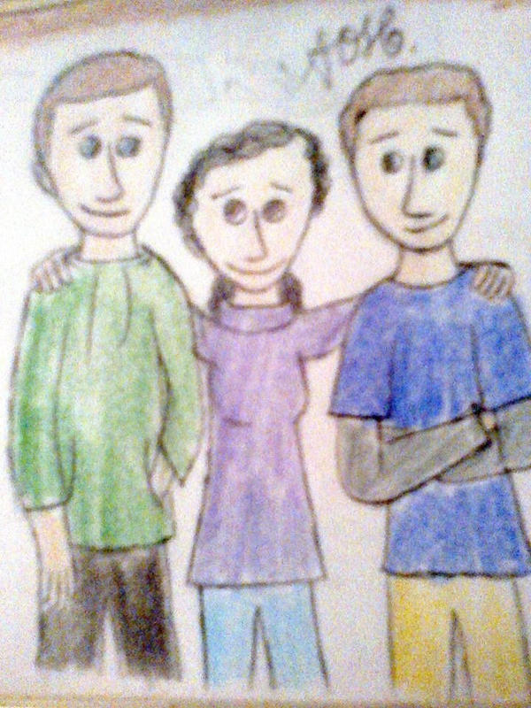 We're family by AndressaNerdMuniz