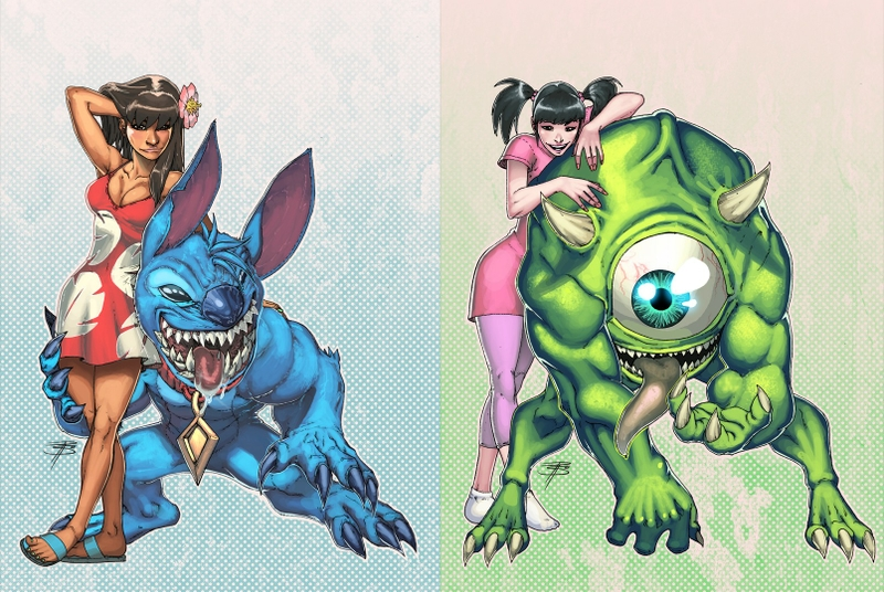Lelio and stitch monster and monster university by beastboygo234 on lelio and stitch monster and monster university by beastboygo234 voltagebd Image collections