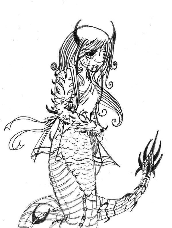 Anime Naga by Taiya001
