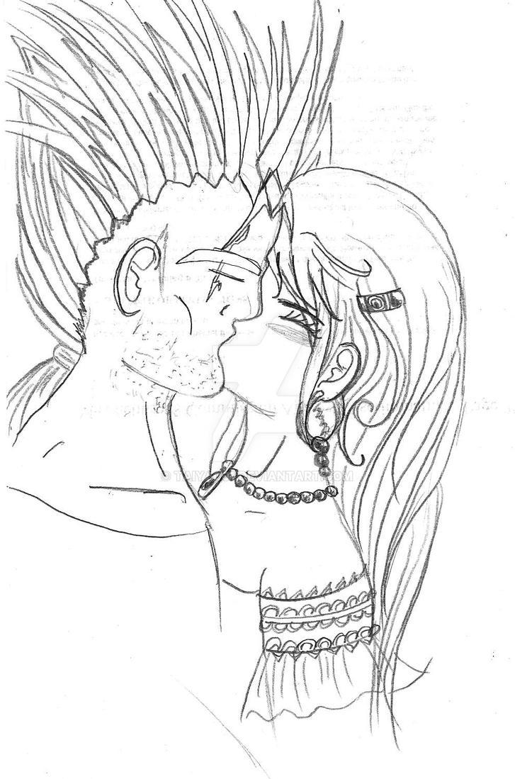 Vlad and Vera Kiss by Taiya001