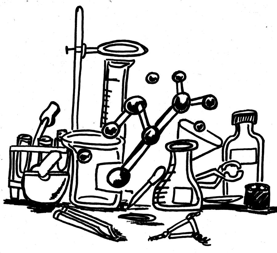 Chemistry Coloring Page by Taiya001 on DeviantArt
