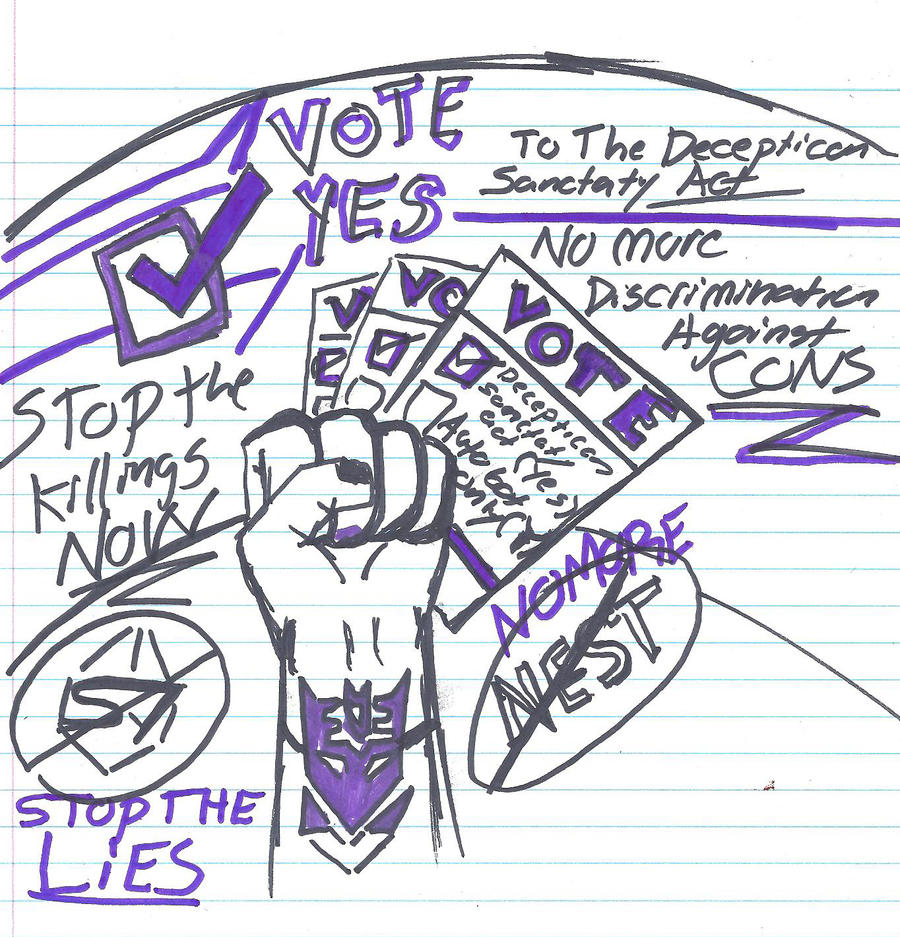 TF Vote Yes Poster by Taiya001