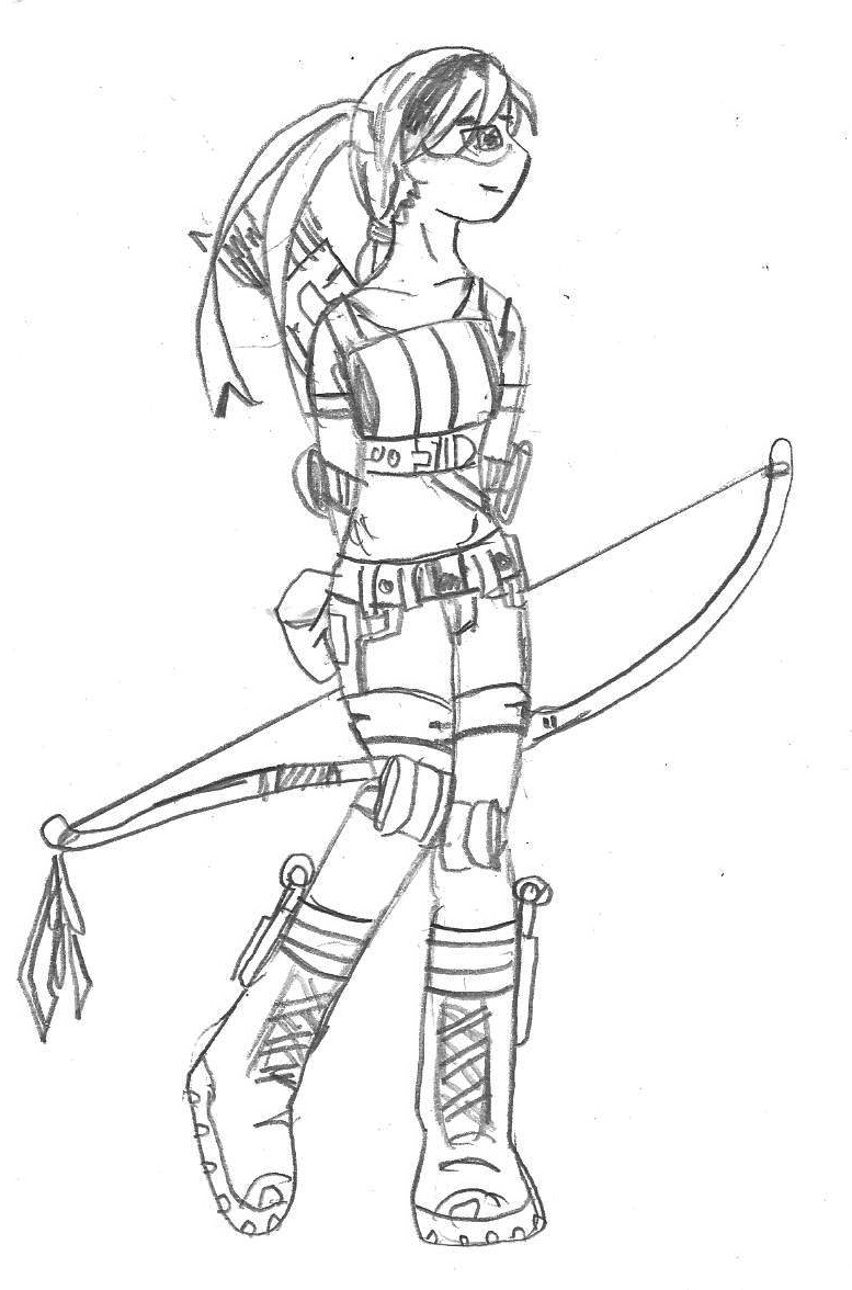 girl ninja turtles coloring pages - photo#22