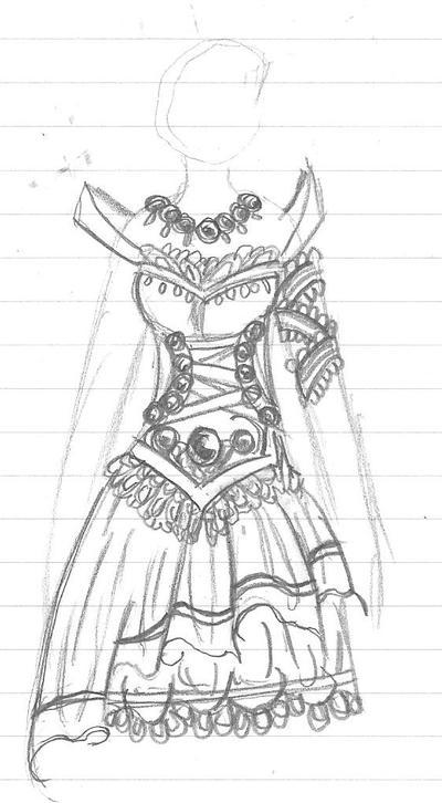 Magical Girl Costume Design by Taiya001