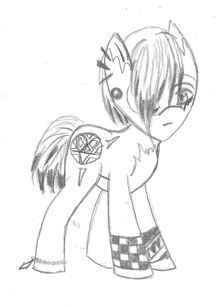 MLP My little Emo Pony by Taiya001