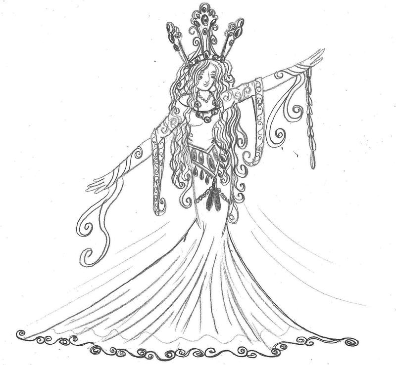 Norwegian Folklore  Princess by Taiya001