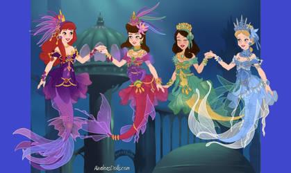 Mermaid Maker Happy Family by Taiya001