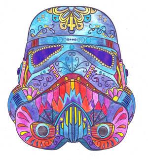 Stormtropper Helmet Colored