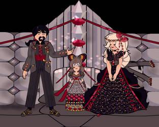 Gemsona Gothic Wedding by Taiya001