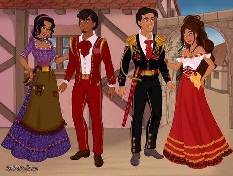 Coco and Book of Life Couples