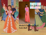 Doll Enthusiasts Model Challenge #46: Yule Ball