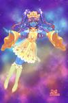 Glitter Shooting Star Dreams by Taiya001