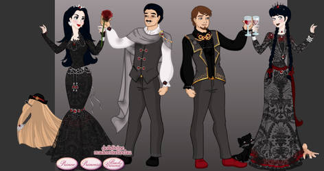 Doll Enthusiasts October Contest Addams Family by Taiya001
