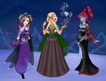 Free Evil Queens OCs by Taiya001