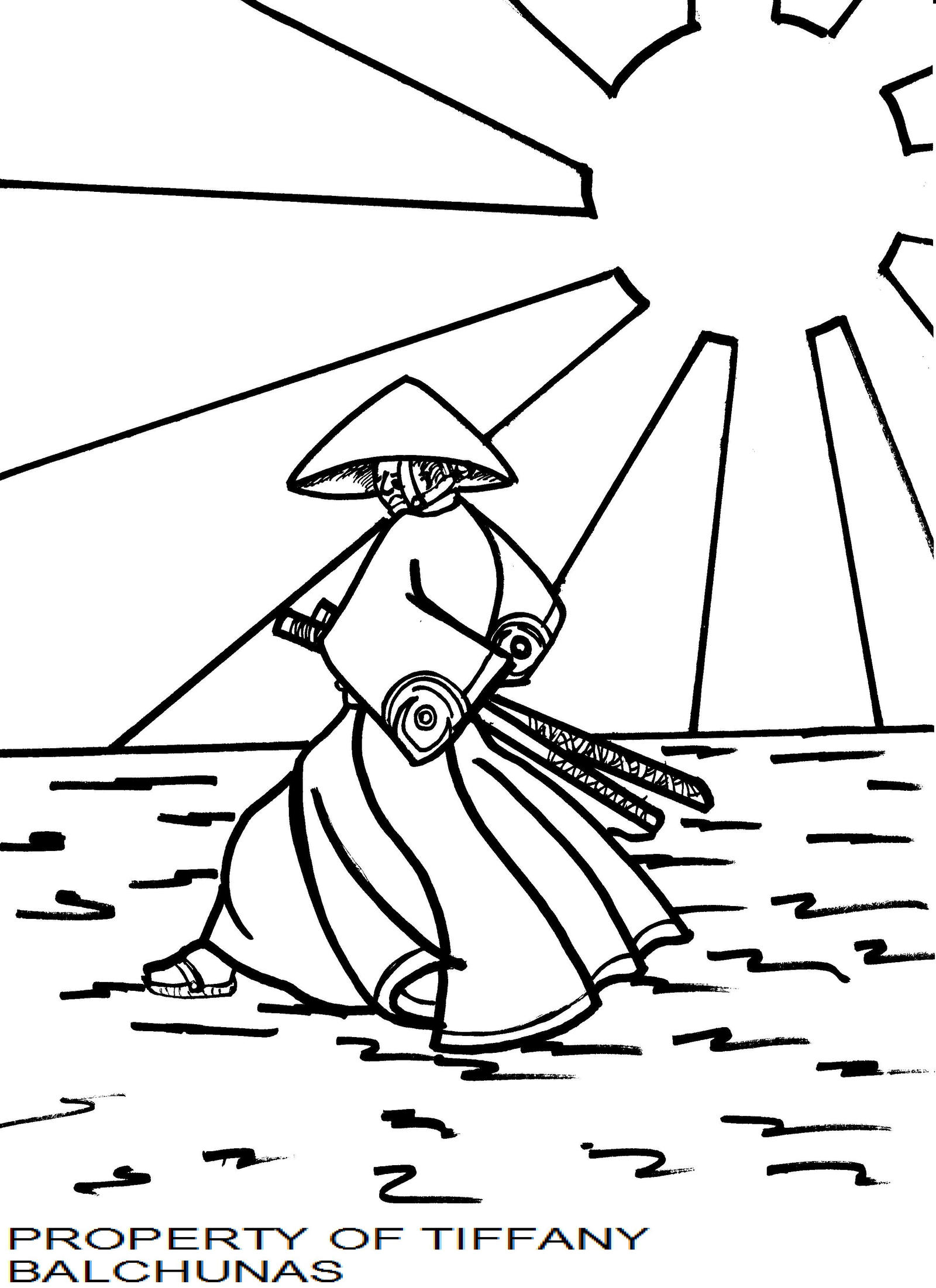 japanese art coloring pages - photo#32