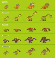 Herbivorous dinosaurs by Pykodelbi