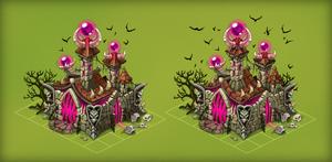 Dark wizards Castle by Pykodelbi