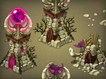 Dark magic tower levels