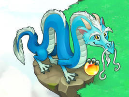 Magic Chinese Dragon by Pykodelbi