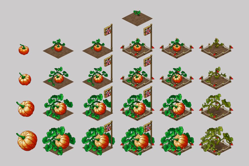 Festival crops pumpkin by Pykodelbi