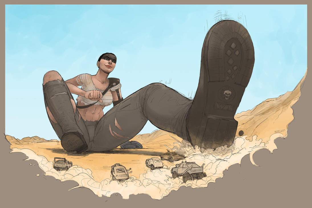 Furiosa Road by berggie