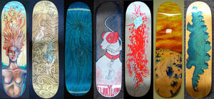 Skateboard Decks, 2010