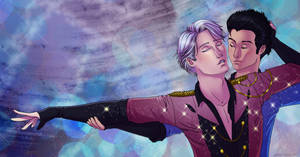 Victor and Yuri by azraelengel