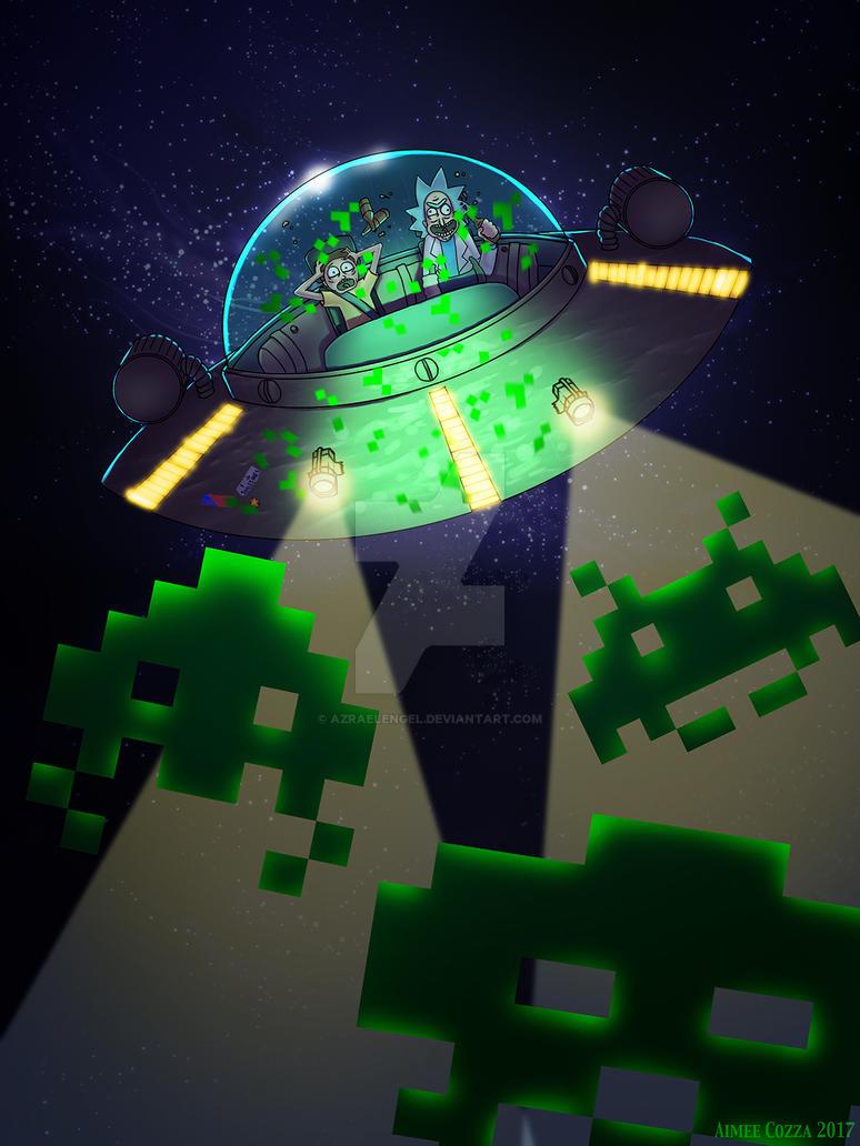 Space Invaders by azraelengel