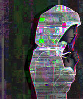 Glitch Girl by azraelengel