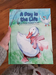 A Day in the Life of a Duck Named Fluff Book