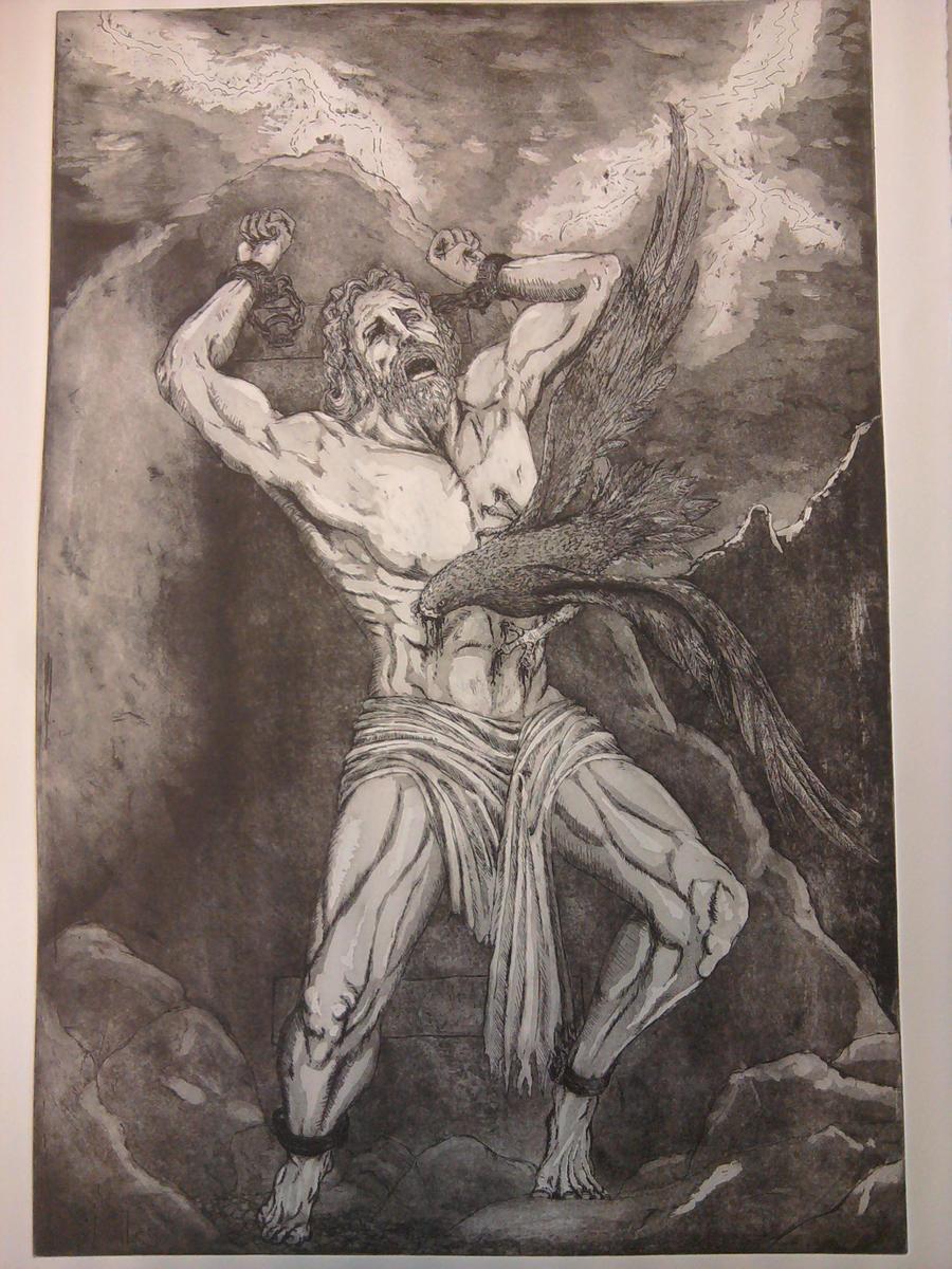 Punishment of Prometheus by SoulEaterSaku90 on DeviantArt